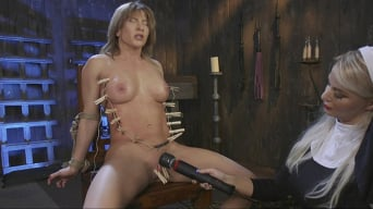 Ariel X in 'Religious Penance with Flogging, Zippers, and Anal'