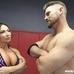 Brandi Mae in 'Kink Partners' Muscle Woman vs. Muscle Man Winner Fucks Loser (Thumbnail 2)