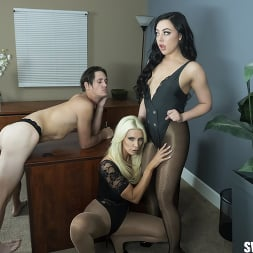 Brittany Andrews in 'Kink Partners' Double Pegging Office Work (Thumbnail 1)