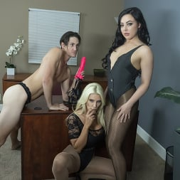 Brittany Andrews in 'Kink Partners' Double Pegging Office Work (Thumbnail 2)