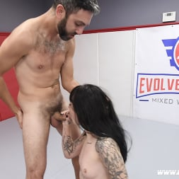 Charlotte Sartre in 'Kink Partners' Beautiful Tattooed Goth Babe Takes on Male in CompetitiveWrestling (Thumbnail 22)
