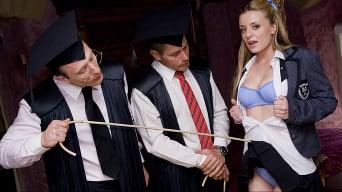 Denice K in 'Filthy Schoolgirl Double Penetration'