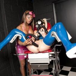 Jasmine Webb in 'Kink Partners' Latex Lezzas and a Horny Gimp (Thumbnail 4)