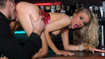 Michelle Moist in 'Underground Fetish Bar'