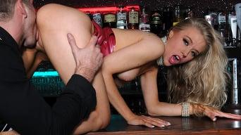 Michelle Moist in 'Underground Fetish Bar'
