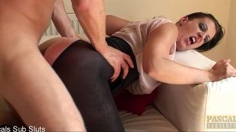 Missy Kink in 'Is A Guzzling Cum-Dump!'