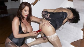 Mistress Alexis in 'Stairway Slut'