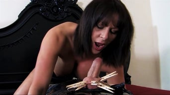 Mistress Carly in 'Fucked and Milked'
