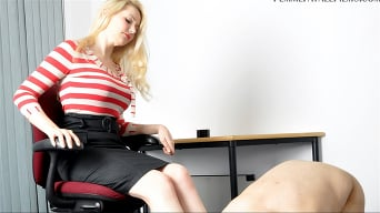 Mistress Eleise de Lacy in 'Busted'