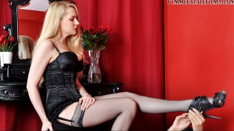 Mistress Eleise de Lacy in 'Busted In The Boudoir'