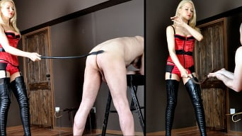 Mistress Eleise de Lacy in 'Testing The Range'