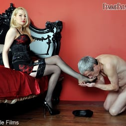 Mistress Eleise de Lacy in 'Kink Partners' Worship My Strap-On (Thumbnail 1)