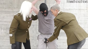 Mistress Heather in 'Scumbag Beating'