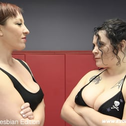 Mistress Kara in 'Kink Partners' Mistress Kara, Johnny Starlight Curvy Bad Ass Women Fight to Fuck (Thumbnail 1)