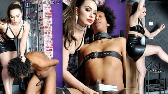 Mistress Serena in 'Bondage Busting'