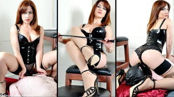 Slave in 'Suck, Sniff and Lick'