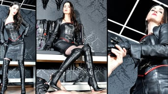 Victoria Valente in 'Leather Goddess'